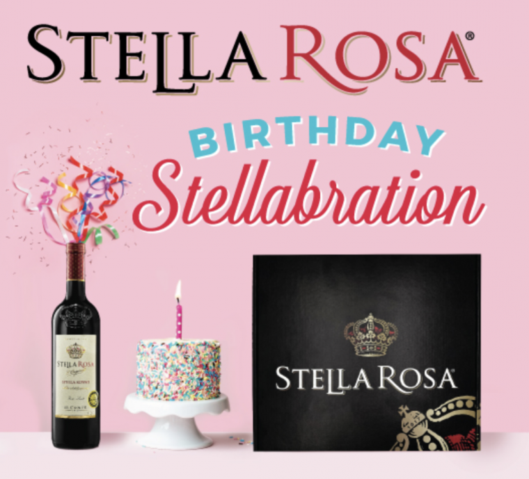 Free Stella Rosa Birthday Cake Lip Balm Product Budget Savvy Diva
