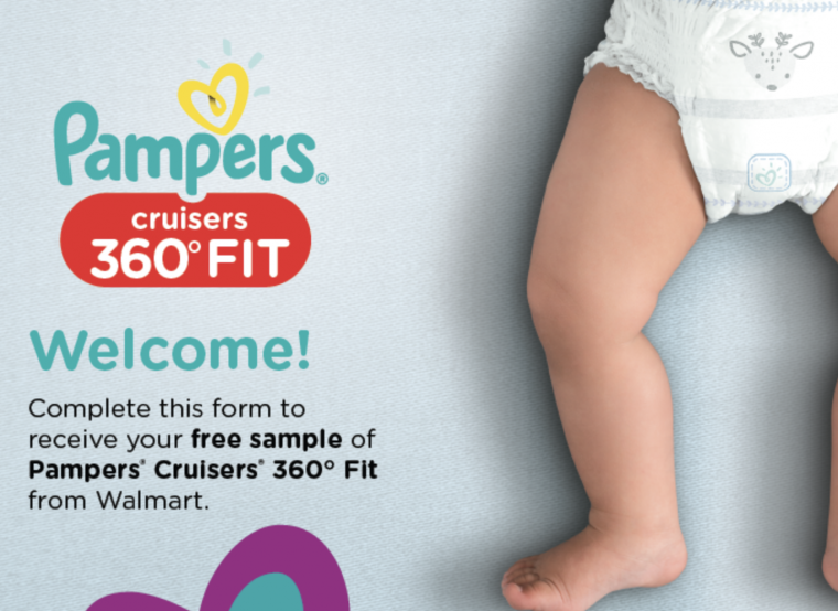 Free Sample Of Pampers Cruisers 360 Fit Diapers Budget